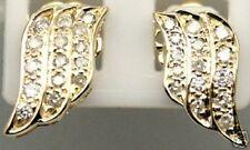 Stunning 0.82 Ct  Diamond 14k Anniversary Stud Earrings