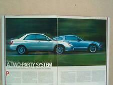 2005 MUSTANG GT VS. SUBARU IMPREZA WRX