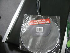 """NEW Splatter Screen - Fits 11"""" Pans, Catcher, Skillet Protective Cover"""