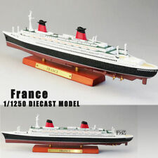 Diecast ATLAS 1/1250 Scale FRANCE Cruise Ship Model Boat Toy Collection Gift
