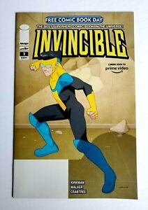INVINCIBLE #1 Free Comic Book Day FCBD ~ Image 2020 ~ Kirkman Amazon Prime