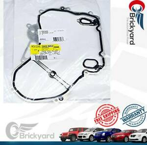 NEW OEM ENGINE TIMING COVER GASKET FRONT 24435052 FITS TERRAIN REGAL EQUINOX