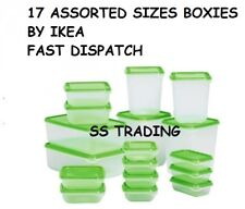 Plastic Food Storage Containers Cake Lunch Box Cereal Sandwiches 17 box by IKEA