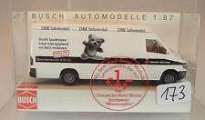 Busch 1/87 47825 Mercedes Benz Sprinter Infomobil Minen DRK Rotes Kreuz OVP#173