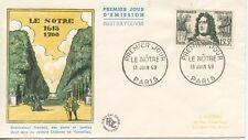 FIRST DAY COVER / PREMIER JOUR FRANCE / LE NOTRE PARIS 1959