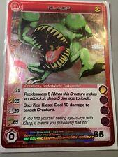 Chaotic Card Rare Klasp TCG CCG Near Mint
