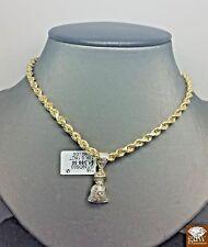 REal  10k Real Money Bag Charm & 0.18 CT Real  Diamonds Ankh,Cross,Dollar Sign
