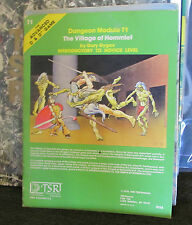 Dungeons and Dragons Module T1 Village of Hommlet TSR 1979 ad&d d&d 9026 rare!!