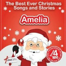 AMELIA - THE BEST EVER CHRISTMAS SONGS & STORIES PERSONALISED CD