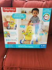 FISHER PRICE STROLL AND LEARN WALKER. N.I.B. 9-36 MO. EXCELLENT LEARNING TOY!!