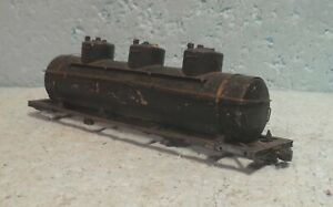 Thomas/All-Nation O Scale/Gauge 2- or 3-Rail Brass 3-Dome Tank Car