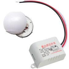 220V Microwave Radar Sensor Auto Infrared Body Motion Sensor Switch Delay