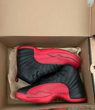 "Air Jordan Retro 12 ""Flu Game"" Boys Size 7 slightly used"
