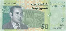 Marokko / Morocco 50 Dirhams 2002 (2005) Pick 69 (1)