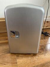 4 L Silver Mini Voyage Réfrigérateur