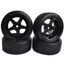 6mm Offset RC 1/10 On-Road Drift Car Hard Plastic Tires flying fish HSP7030-6013