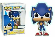FUNKO POP GAMES SONIC THE HEDGEHOG #283 SONIC with RING (GLOW) VINYL FIGURE 🛎️