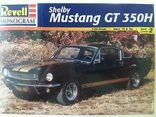 Revell 1966 Shelby Mustang Gt350H 1/24 Scale Plastic Model Kit 85-2482 - Old Box