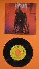 "RARE PEARL JAM 1991 PROMO ""ALIVE"" SPAIN SPANISH 7"" SINGLE 45 MINT VINYL RECORD"