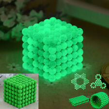 Glowing 216pcs 5mm Magnet Ball Magic Beads cube Neodymium Sphere 3D Puzzle ball