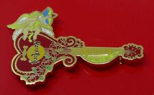 More details for hard rock cafe pin badge shenzhen china valentine's day 1998 cherub guitar roses