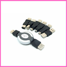 USB Adapter Travel Kit Cable To Firewire IEEE 1394 Mini 5P Adapter 6 In 1 Set