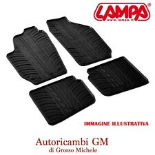 Set tappeti su misura in gomma - Renault Megane III 5p 11/08> LAMPA 24305