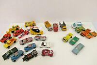 Lesney Matchbox & Hot Wheels VTG Lot of 26 Loose Cars 1970s 80s 90s Rare