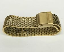 CITIZEN Original Gold Tone Stainless Steel Mens Watch Band Strap Bracelet 21mm