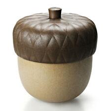 Behälter Acorn Qualy Eichel Box Frucht Schatulle Ablage Aufbewahrung Braun