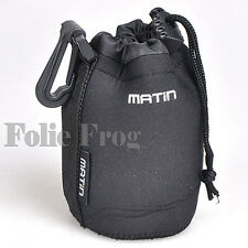 Neoprene Soft Protector Carry Case Camera Lens Bag Pouch DSLR SLR