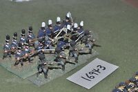 25mm napoleonic / prussian - infantry 20 figs - inf (16943)