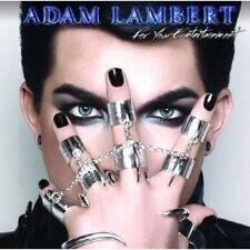 "ADAM LAMBERT ""FOR YOUR ENTERTAINMENT"" CD NEU"