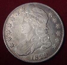 1829 50C Capped Bust Half Dollar