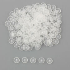 Pack of 10 x 23mm Clear Transparent 4 Hole Buttons Sewing Knitting Crafts AA35