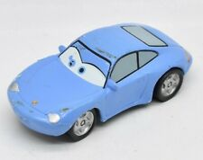 "Disney Cars Sally Carrera Blue Porsche Loose Car Plastic 3"""