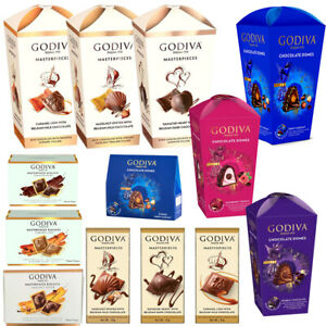 Godiva Selection Assorted Collection Belgian Milk Chocolate Domes Family Gift