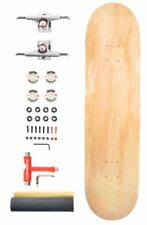 "Venom Complete Pro Skateboard  ABEC 11/52mm Wheels - Natural Deck 8""/Raw Trucks"