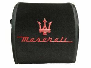 🇮🇹 MASERATI Design 🏅 Trunk Cargo Organizer 🛄 Size (XL) 🏁 Boot Storage Bag ✅