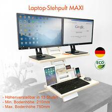 Laptop-Stehpult MAXI, Steh Arbeitsplatz, Stehschreibtisch, Computertisch, Lptop