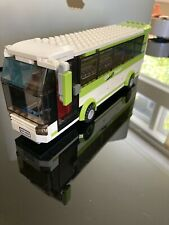 Lego City 8404 Green Bus Only - from City Public Transport Station