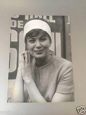 ÉDITH-MARIE PIERHA - PHOTO DE PRESSE ORIGINALE  18x13 cm
