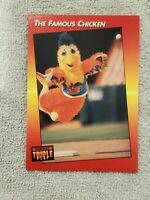 1992 DONRUSS TRIPLE PLAY BASEBALL THE FAMOUS CHICKEN #138 MINT Free Shipping