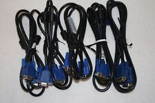 5FT & 6FT VGA Monitor Cable Male To Male M M for Computer TV Wholesale Lots