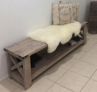 HANDMADE TV Unit Solid Wood Entertainment Stand Hamptons French Provincial Style