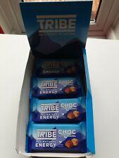 Nouvelle annonce 8 x tribu Infinity énergie chocolat sel Caramel Plant Based 50 g BBE juillet 20
