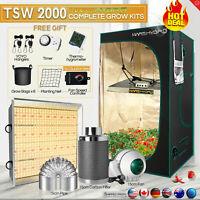 Mars Hydro Grow kit+LED grow Light Full Spectrum +Grow Tent Fan Carbon Filter