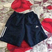 Mens Blue Adidas Sport Essentials Climalite Shorts Size S