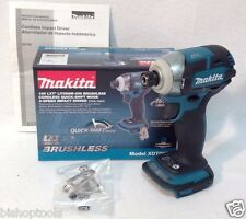 "Makita XDT09Z Brushless 1/4"" Impact Driver 18V 3-Speed Quick Shift Retail NIB"