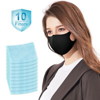 Face Protection Mouth Filters Anti-Dust Unisex Adult Women Men Washable